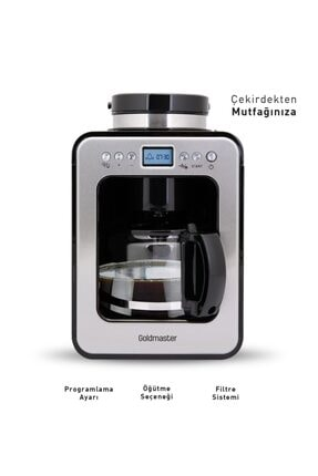 Pc-3245 Proıtaliano - Öğütücülü Filtre Kahve Makinesi 305676