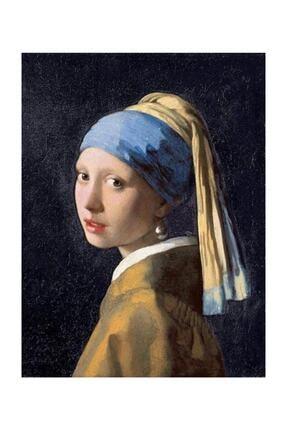 King Of Puzzle Inci Küpeli Kız Johannes Vermeer Ahşap Puzzle 1000 Parça (Kr01m) 1
