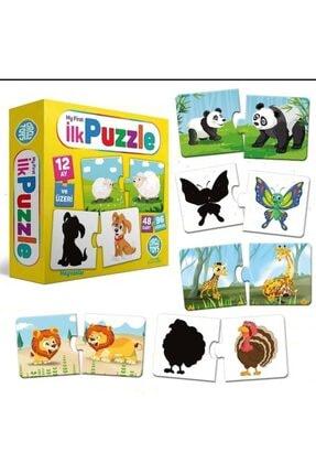 Altıngöz Oyuncak 3 Lü Eğitici Set (ilk Puzzle-dokun Hisset Kartlar-12 Li Yumurta Eşleştirme) 1