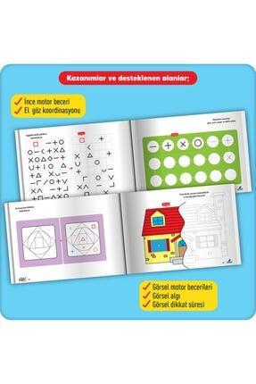 Adeda Yayınları Dikkatli Çizgiler Okuldan Önce Serisi 3 Kitap Set 3