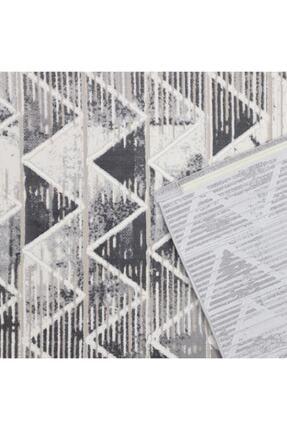 RUG PAGE Modern Kaliteli Dekoratif Salon Ve Oturma Odası Halısı-gri Lotus 1
