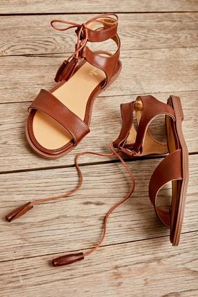 Bambi Taba Kadın Sandalet L0652071009 0