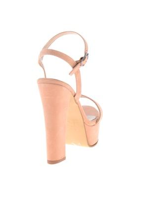 Bambi Pudra Süet Kadın Abiye Ayakkabı L0527052072 3