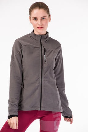 adidas Kadın Outdoor Sweatshirt - W Tivid Fl Jkt - Bp9466 0