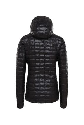The North Face Thermoball Eco Hoodie Kadın Mont Siyah 1