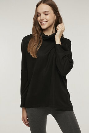 Penti Siyah Hot Tech Active Sweatshirt 1