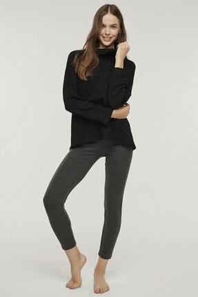Penti Siyah Hot Tech Active Sweatshirt 4