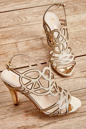 تصویر از Altın Kadın Açık Ayakkabı L0501500178