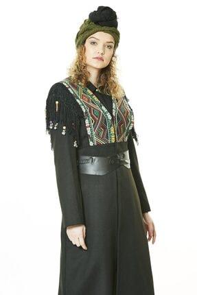 Tuğba Kısa Manto-siyah Tk-l3163-09 1