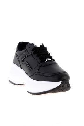 Bambi Siyah Kadın Sneaker L0547000509 2