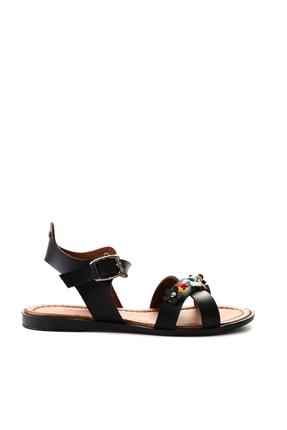 Bambi Sıyah Kadın Sandalet L0529333309 1