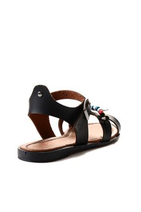 Bambi Sıyah Kadın Sandalet L0529333309 3