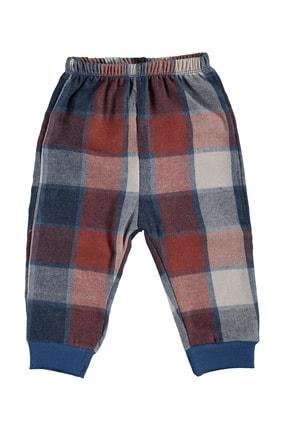 hepbaby Tilki Nakışlı, Ekoseli Bebek Pijama Takımı – 9-18 Ay 2