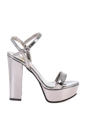 Bambi Kurşun Kadın Abiye Ayakkabı L0527052039 1