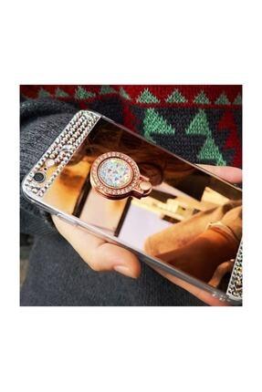 Ksyaccessories Iphone X/xs Aynalı Ve Taşlı Selfie Yüzüklü Telefon Kılıfı 1
