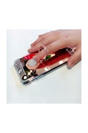 Ksyaccessories Iphone X/xs Aynalı Ve Taşlı Selfie Yüzüklü Telefon Kılıfı 2