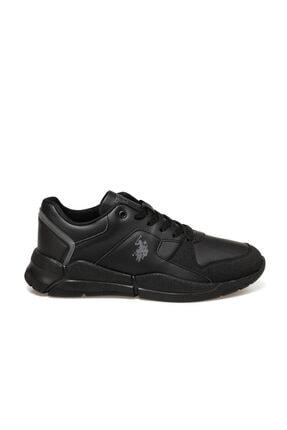 US Polo Assn CALABRIA Siyah Erkek Sneaker Ayakkabı 100548883 1