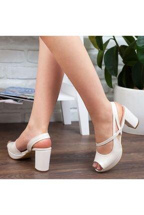 Adım Adım Sedef Yüksek Topuk Abiye Kadın Ayakkabı • A192ymon0001 4