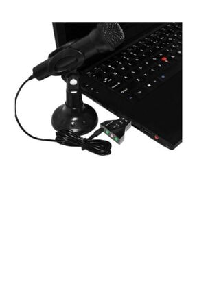 MAXGO 7.1 Usb Ses Kartı 7 Kanal Destekli Kablolu Çift Audıo Çevirici Dönüştürücü Haricı Mikrofonlu 3