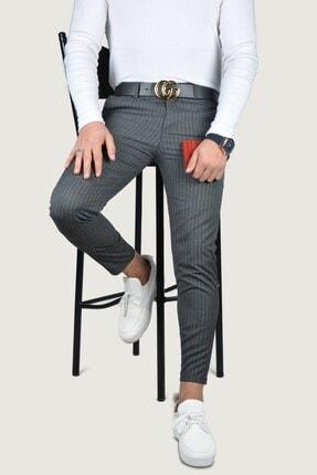 Terapi Men Erkek Keten Pantolon 8k-2200133-042 Antrasit 1