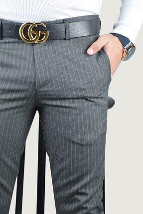 Terapi Men Erkek Keten Pantolon 8k-2200133-042 Antrasit 2