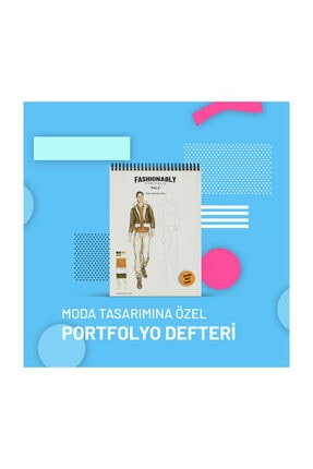 Atölye İzmir Fashionably Portfolio Male A4 0