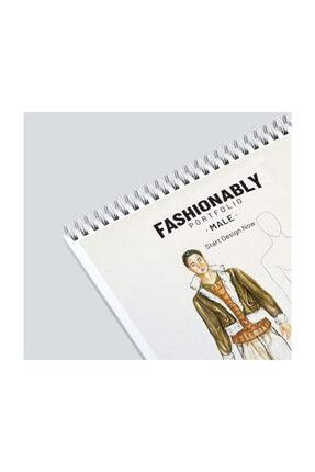 Atölye İzmir Fashionably Portfolio Male A4 1