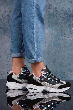 Dark Seer Siyah Beyaz Kadın Sneaker 1