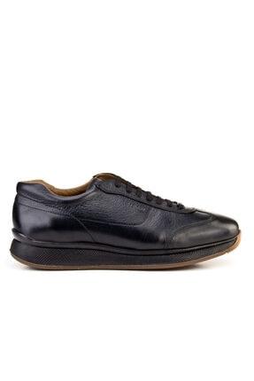 Cabani Bağcıklı - Erkek Ayakkabı Siyah Deri 1