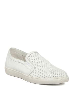 تصویر از Beyaz Deri Erkek Ayakkabı 54212o5ı