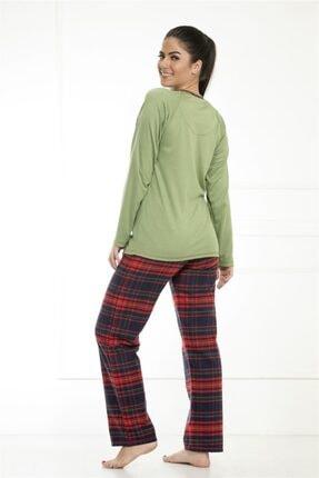 Etoile Kadın Kışlık Uzun Kol Pamuklu Pijama Takımı / 98082 1