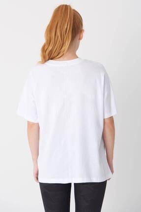 Addax Oversize Basic T-shirt P0730 - J6j7 4