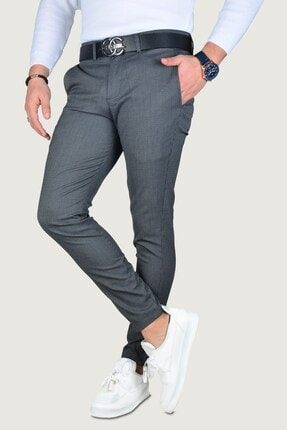 Terapi Men Erkek Keten Pantolon 9k-2200214-042 Antrasit 0