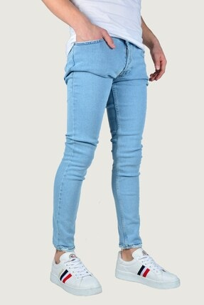 Terapi Men Erkek Kot Pantolon Likralı 9k-2100342-035 Buz Mavi 1