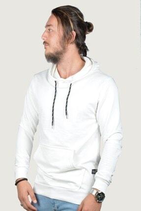Terapi Men Erkek Kapşonlu Uzun Kollu Sweatshirt 9y-5200178-001 Beyaz 2