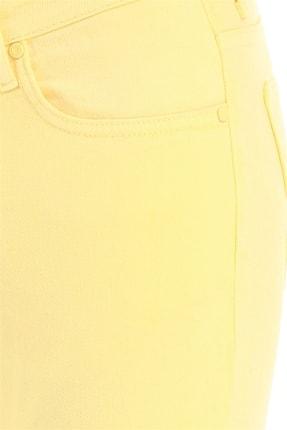 Efor 037 Slim Fit Sarı Jean Pantolon 4