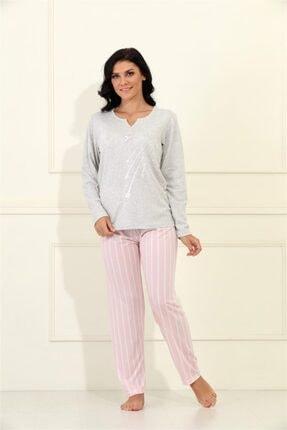 Etoile %100 Cotton Uzun Kol Pijama Takımı 98068 1