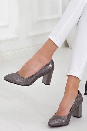 Mammamia Platin Topuklu Kadın Stiletto Ayakkabı • A202ydyl0069 2