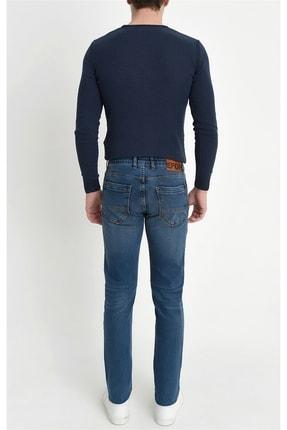 Efor 044 Slim Fit Mavi Jean Pantolon 4