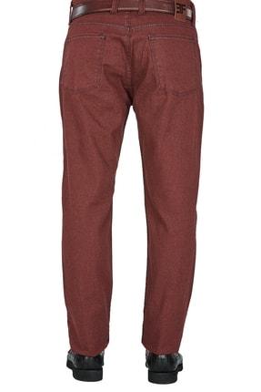 Efor P 1025 Slim Fit Bordo Kanvas Pantolon 3