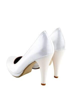 Ayakkabı Tarzım Kırık Beyaz Soft Gova Kadın Ayakkabı Alckc 00569 3