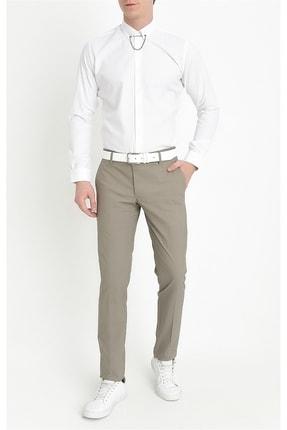 Efor P 1063 Slim Fit Haki Spor Pantolon 0