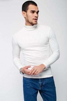 Lafaba Erkek Beyaz Triko 3