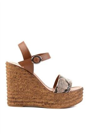 Bambi Bej Kadın Dolgu Topuklu Ayakkabı L0522210007 1