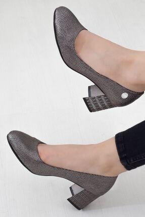 Mammamia Platin Topuklu Kadın Stiletto Ayakkabı • A202ydyl0061 2