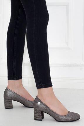 Mammamia Platin Topuklu Kadın Stiletto Ayakkabı • A202ydyl0061 3
