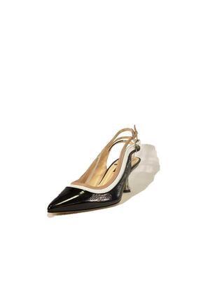 Flower Hakiki Deri Klasik Topuklu Ayakkabı Flw19y-a9303 4