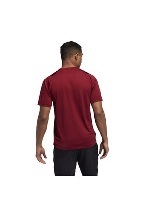 adidas Fl_tec Z Ft Hea Erkek Kırmızı Antrenman Tişört Eb9428 1