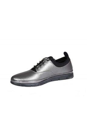 MİSS PARK MODA K16 Platin Kadın Günlük Ayakkabı 3