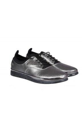 MİSS PARK MODA K16 Platin Kadın Günlük Ayakkabı 4
